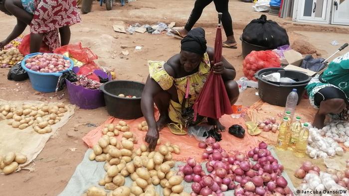 Guinea-Bissau   Markt in Bissau   Lebensmittel