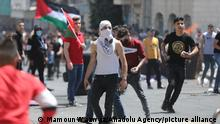 Westjordanland West Bank | Nahostkonflikt | Demonstranten