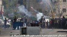 Westjordanland West Bank | Nahostkonflikt | Demonstranten