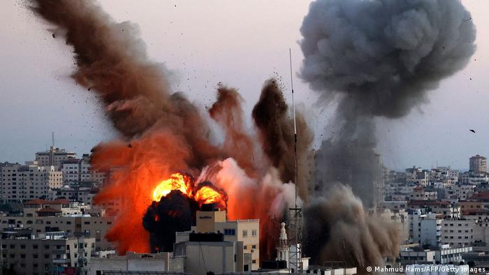 Израильский ракетный удар в сектор Газа
