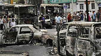 Chinese officials said that a total of 197 people died in the riots in Xinjiang in July 2009