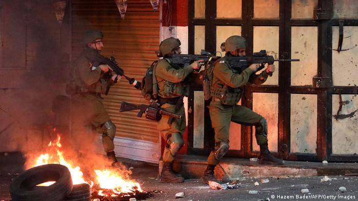 Westjordanland Hebron Israel Armee Ausschreitungen