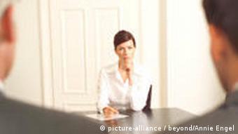 Женщина на переговорах