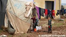 4) Coronavirus und Hunger bedrohen auch die Flüchtlingscamps bei Idlib, Syrien. © HIHFAD/Welthungerhilfe