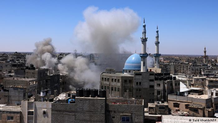 Gaza   Luftangriff in Rafah