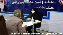 Iran Präsidentschaftswahlen 2021: Kandidaten registrieren