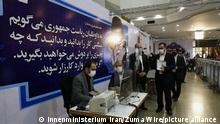 May 12, 2021, Tehran, Iran: People register their candidacy for Iran presidential elections at the Interior Ministry. The registration for candidates started on 11 May 2021 at the Ministry of Interior. Iran will hold a presidential election on 18 June 2021. (Credit Image: © Iran'S Interior Ministry via ZUMA Wire