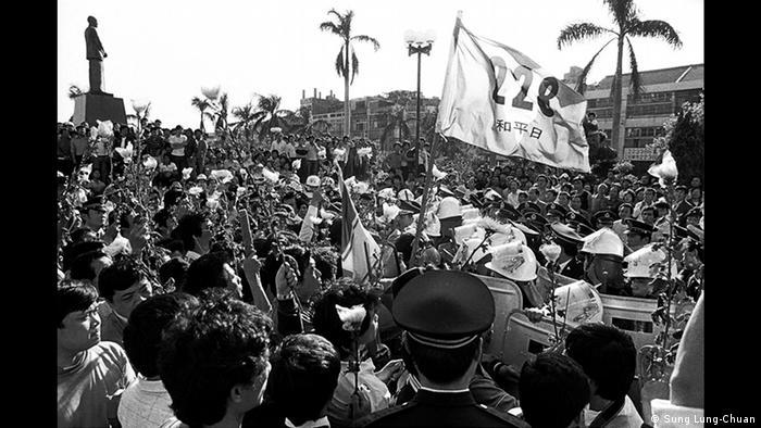Taiwan I Fotoausstellung: 30 Jahre Demokratiebewegung in Taiwan