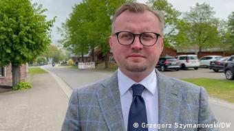 Konsul generalny RP w Hamburgu Paweł Jaworski