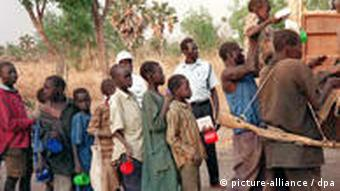 Demobilized child soldiers in southern Sudan