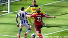 Fussball Bundesliga l 33. Spieltag l Hertha BSC vs 1. FC Köln