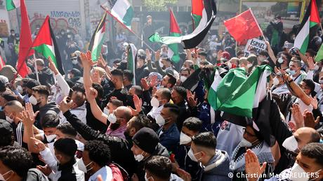 Διαδηλώσεις κατά του Ισραήλ – Βία στο Βερολίνο