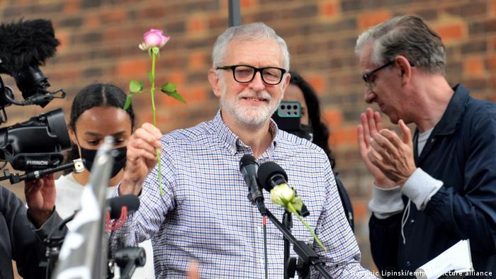 Großbritanien I Jeremy Corbyn I Palästina-Solidaritätsmarsch