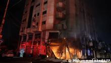 Konflikt in Nahost | Gaza-City Zerstörungen nach Luftangriffen aus Israel