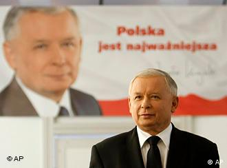 Kaczynski has performed better than expected