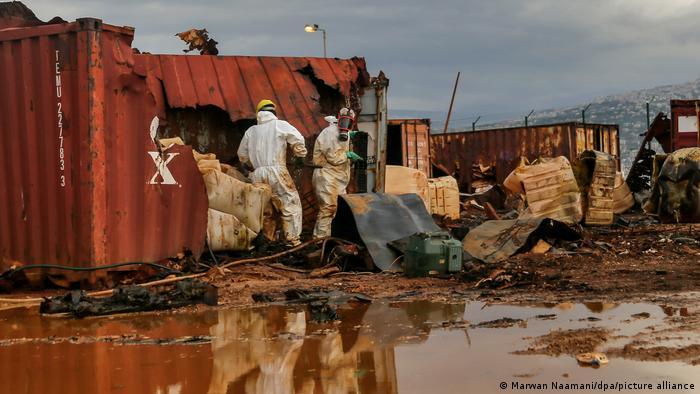 زبالههای شیمیایی انفجار بیروت در آلمان دفع میشوند