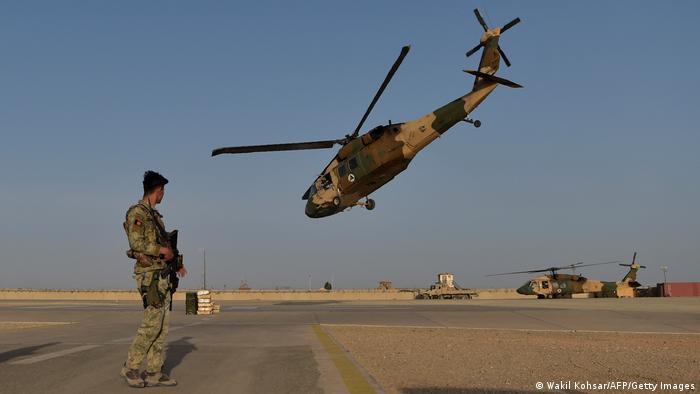 Las fuerzas afganas disponen (o disponían) de varios Black Hawk entregados por Estados Unidos.