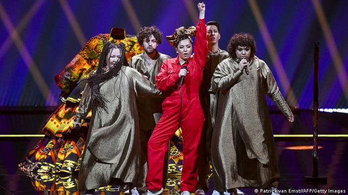 Манижа на сцене Евровидения