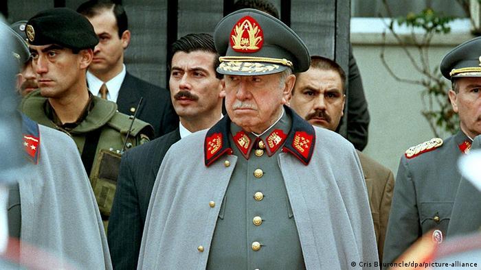 ژنرال پینوشه دیکتاتور سابق شیلی