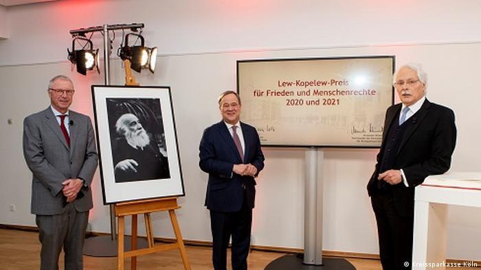 Verleihung des Lew-Kopelew-Preises für Frieden und Menschenrechte 2020 und 2021