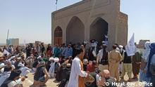 Afghanistan l Beisetzung eines Rebellenführers - Mullah Abdul Manan Niazi, Herat