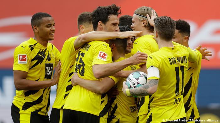 Fussball Bundesliga l 1. FSV Mainz 05 vs Borussia Dortmund - Tor 0:1