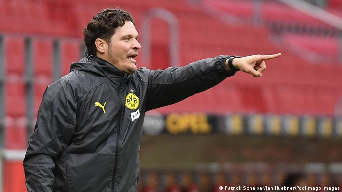 Fussball 1.Bundesliga, FSV Mainz 05 - Borussia Dortmund I Trainer Edin Terzic