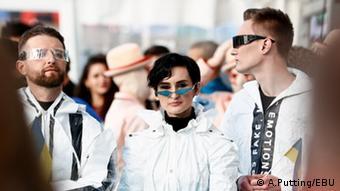 Go_A на церемонии открытия Евровидения-2021 в Роттердаме