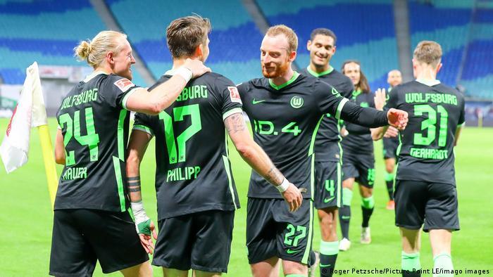 Fußball: Bundesliga, 33. Spieltag I RB Leipzig vs VfL Wolfsburg