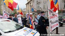 Rumänien I Protest gegen Corona-Impfung in Bukarest