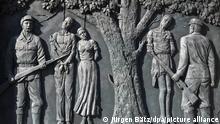 Namibia, Windhuk I Denkmal zur Erinnerung an den Völkermord von Herero und Nama
