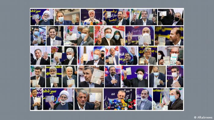 Iran Kandidaten für die Präsidentschaftswahl 2021