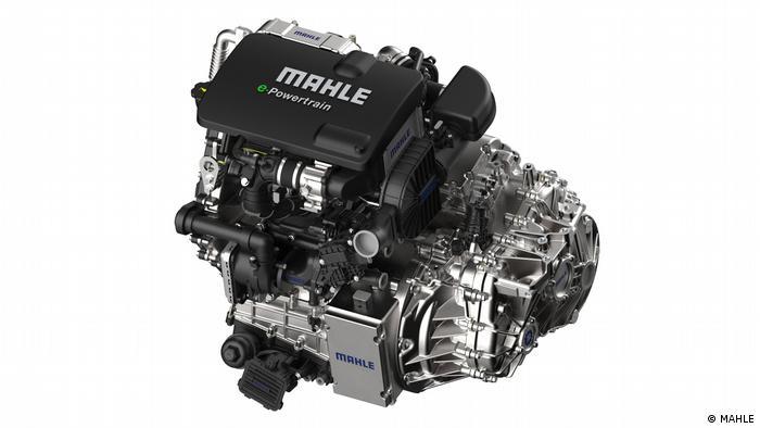 Modularer MAHLE Hybrid-Antriebsstrang