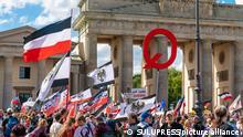 Deutschland QAnon Anhänger Berlin