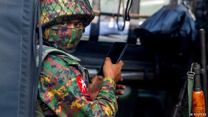 Symbolbild Myanmar Militär Coup