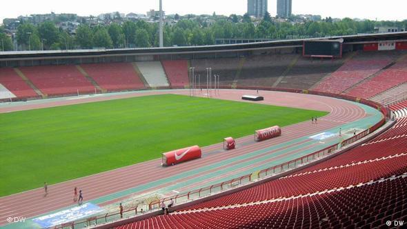 Das Stadion Marakana, Roter Stern Belgrad (Foto: DW)