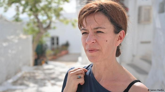 Griechenland   Amorgos Windpark  Eleftheria Psychogiou