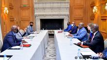 Frankreich | Félix Tshisekedi und Kristalina Georgieva | Treffen