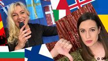 Eurovision Song Contest. Rechte: DW