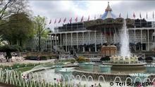 Tivoli DATE: March 11, 2021 LOCATION: Copenhagen, Denmark SUBJECT: Tivoli Gardens CREDIT: Teri Schultz, DW SEARCHWORDS: coronapass, COVID19, corona passport