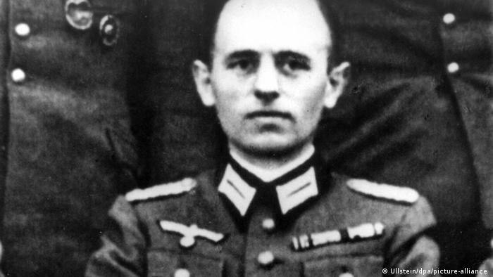 Rajnhard Gelen u uniformi Vermahta 1944.