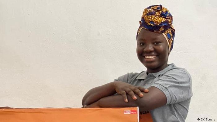 Makémè Konaté fait partie des associations de jeunes filles qui luttent contre les violences faites aux femmes