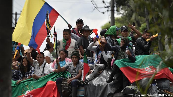 Kolumbien | Proteste der indigenen Bevölkerung
