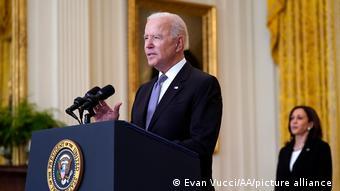 USA I Joe Biden I Corona Impfung