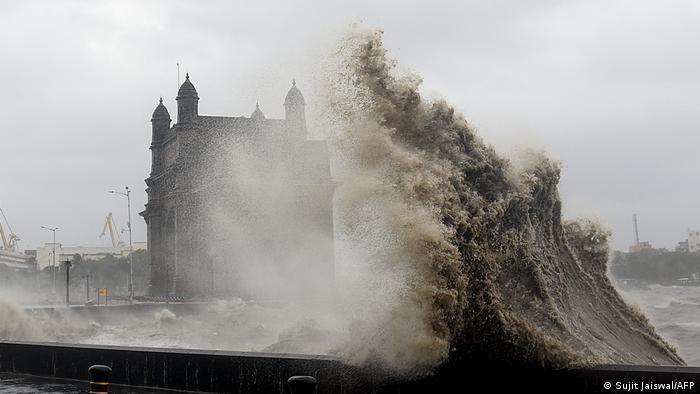 BdTD Indien Zyklon Tauktae in Mumbai
