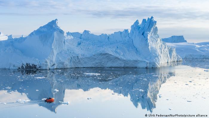Icebergs da Groenlândia