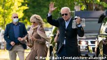 US-Präsident Joe Biden Jill Biden