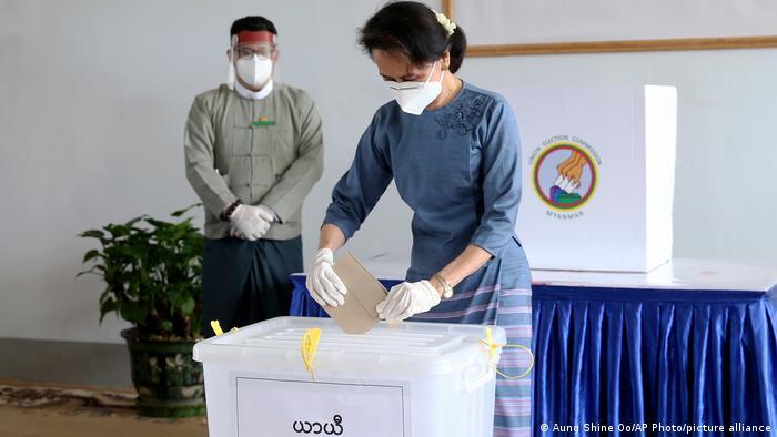 Myanmar Wahlen 2020 Aung San Suu Kyi