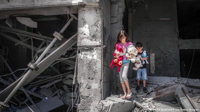 Деца в Газа