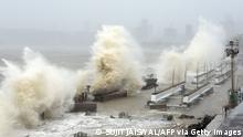 طوفان توکتای در غرب هند